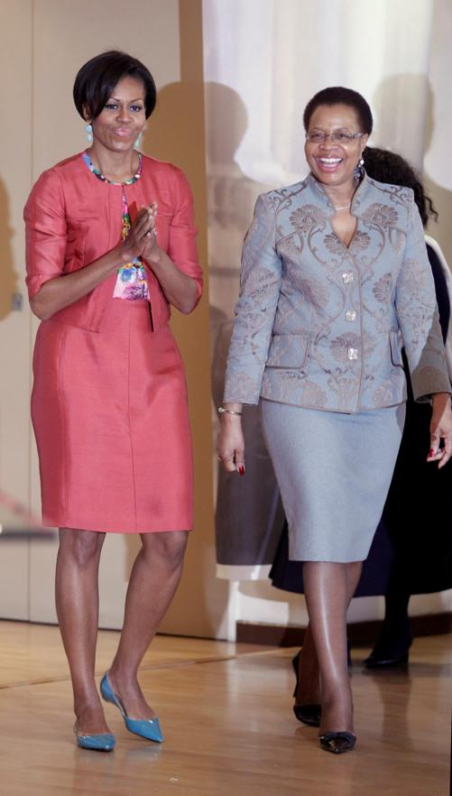 Mrs O & Graca Michel