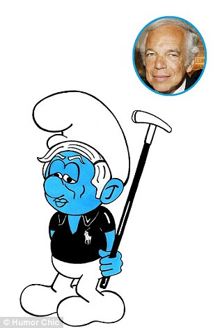 Fashion Smurfs - Ralph Lauren
