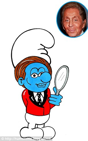 Fashion Smurfs - Valentino